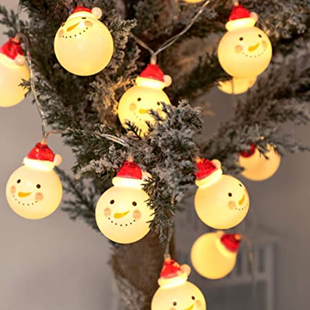 Battery Fairy String Lights 10 LED Outdoor Indoor Christmas Tree Decoration