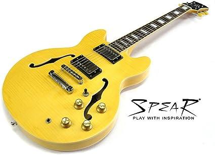 Guitarra eléctrica Spear rd-blues CS, weighs Only 2,7 kg.: Amazon ...