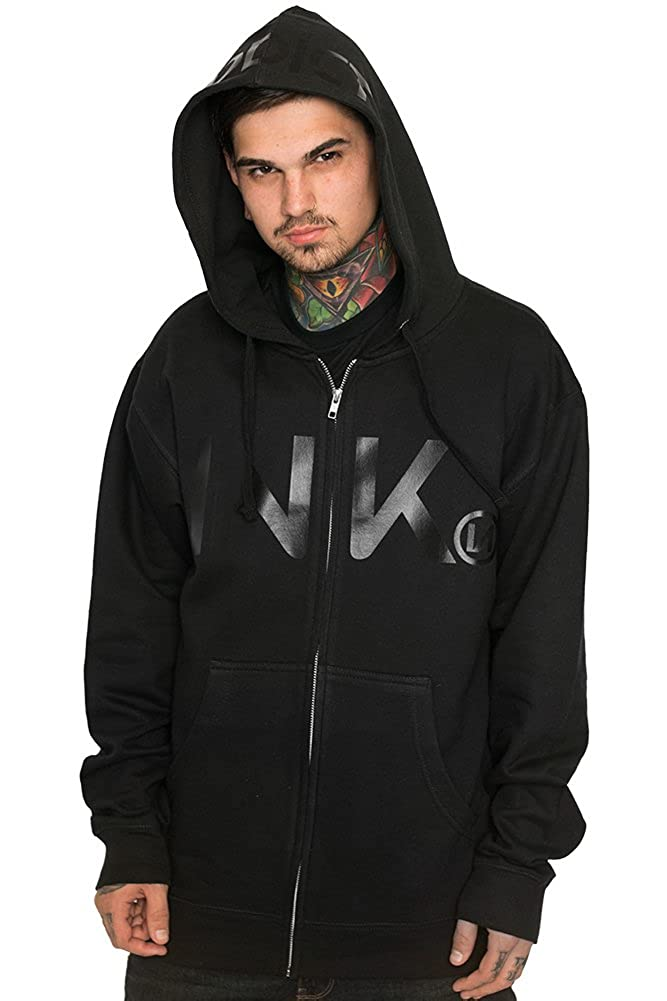 c8ef44f1e14f InkAddict Ink Black Collection Men s Zip Hoodie at Amazon Men s Clothing  store