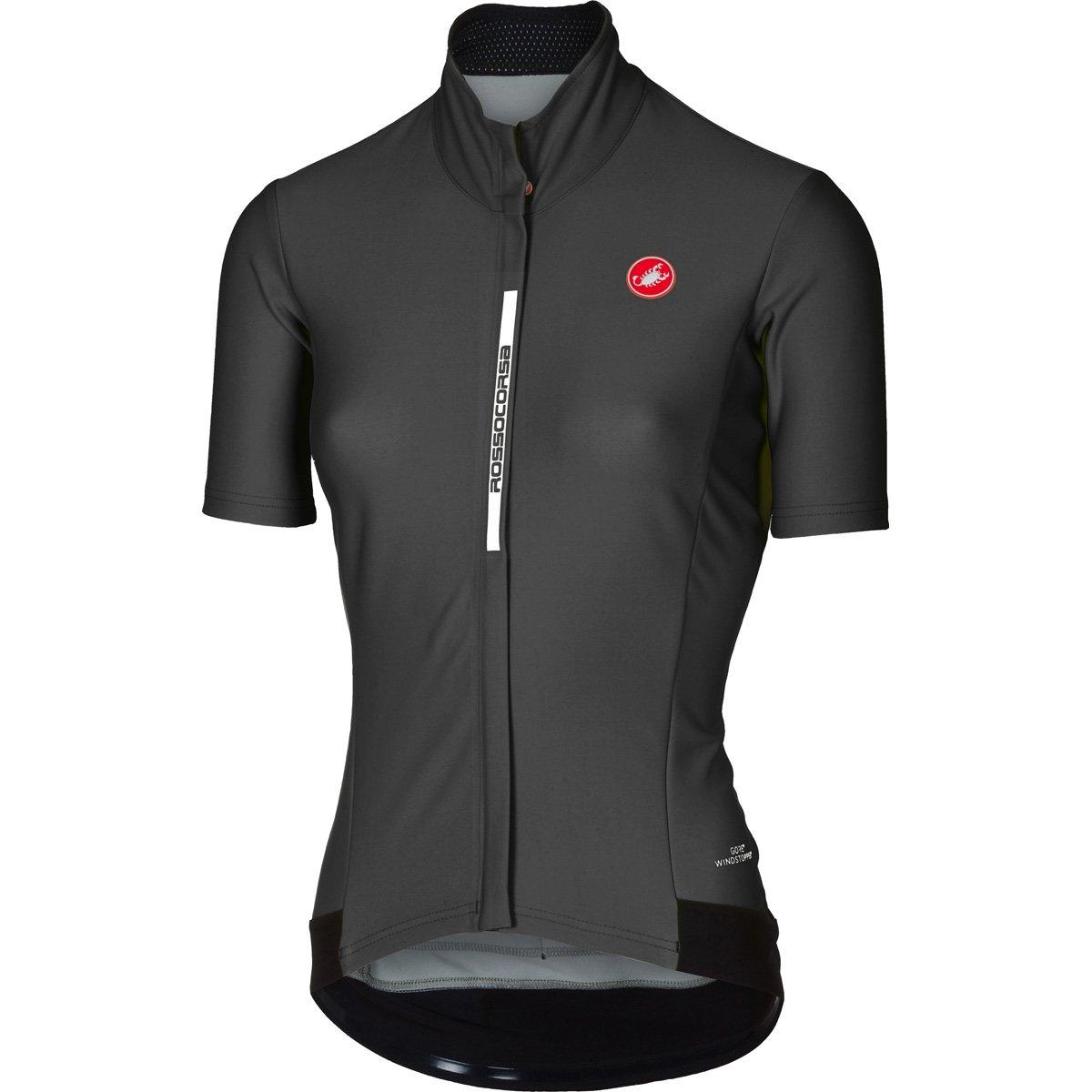 Castelli 2017レディースGabba 2半袖サイクリングジャケット – b17086 B075ZM1MVC X-Small|ライトブラック ライトブラック X-Small