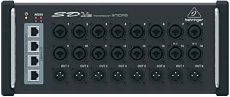 Behringer Digital Snake Sd16 - Mesa de mezclas: Amazon.es ...