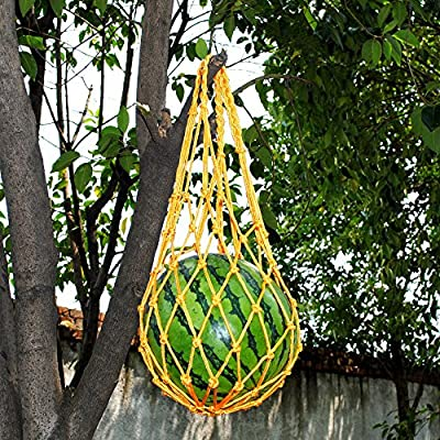 LSHCX Melon Hammocks Cradles, 5 Pack of Nets for Melons, Perfect for Growing Cantaloupe, Watermelon in Vertical Garden