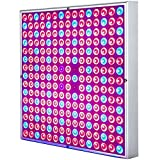 45W LED Grow Light, Venoya Full Spectrum UV IR Red Blue 225 LEDs Indoor Plant Growing Lamp Bulb for Hydroponics Aquaponics Greenhouse Seedling Veg and Flower