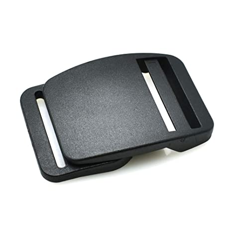 Paquete de 3 hebillas de plástico para cinturón de seguridad, 30 mm, mochila con