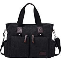 BLILI Casual Canvas Crossbody Large Capacity 38x16x28cm Travelling Men's Shoulder Bag (various colors)