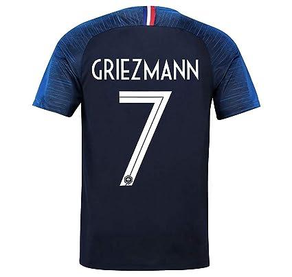 784635a50ba93 Amazon.com : AdriK 2018 Team World Soccer Cup France Griezmann 7 ...