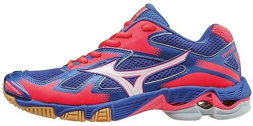 Mizuno Wave Bolt Wos, Zapatillas de Voleibol para Mujer, Azul (Dazzlingblue/White