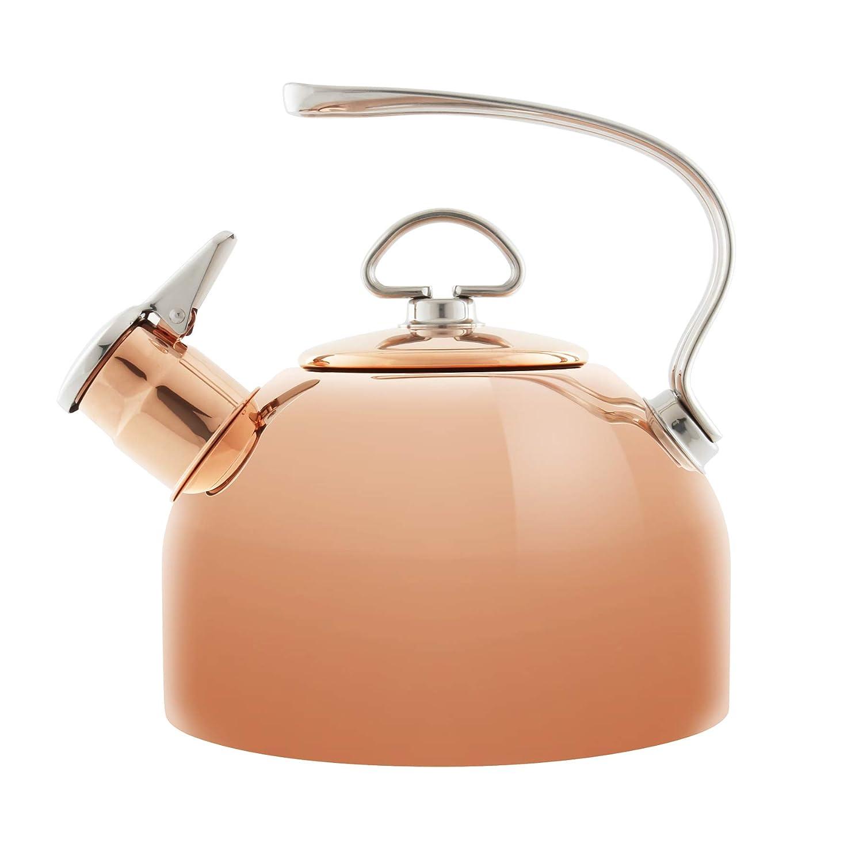 Chantal Copper Classic 1.8-quart Tea Kettle