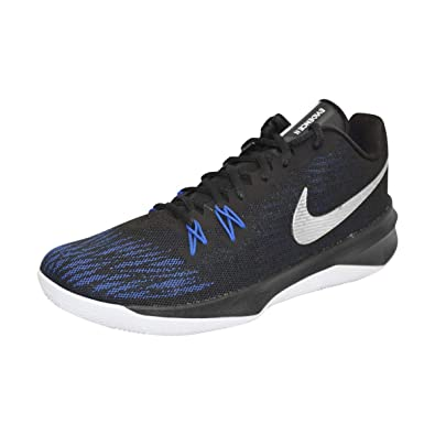 the best attitude de234 1f071 Amazon.com   Nike Men s Zoom Evidence II Basketball Shoe (Black Metallic  Silver, 7.5 D(M) US)   Basketball
