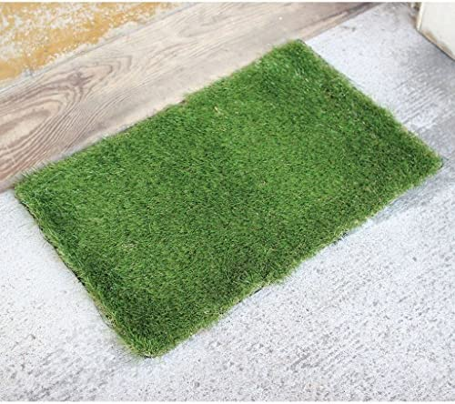 Time Concept Lifelike Faux Grass Indoor Outdoor Door Mat – Rectangle
