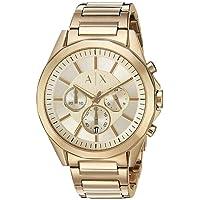 Armani Exchange AX2602 Drexler Gold-Tone Stainless Steel Watch