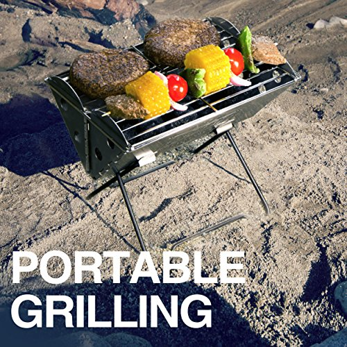 UCO Flatpack Portable Stainless Steel Grill and Fire Pit by Grilliput (Image #2)