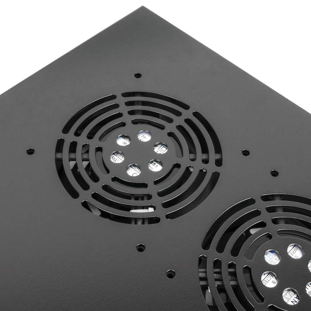 Ventilation kit for server rack 19 1U 4 fans of 120mm RackMatic