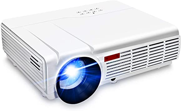 WiFi Projector,ELEGIANT 3000 Lumens Long Life LED Full HD LED Home Cinema TV Projector LCD Multimedia Video Game Projectors Support 1080P USB VGA AV ...