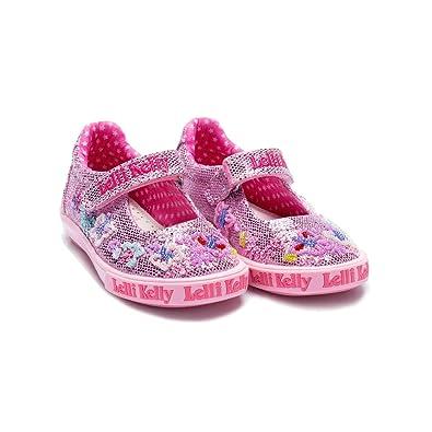 dcf7737d6a533 Amazon.com | Lelli Kelly LK 9082 Glitter Summer Mary Jane in Pink ...