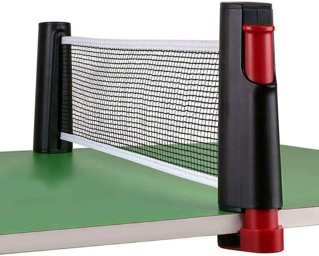 Games Retractable Table Tennis Ping Pong Portable Net Kit Replacement Set
