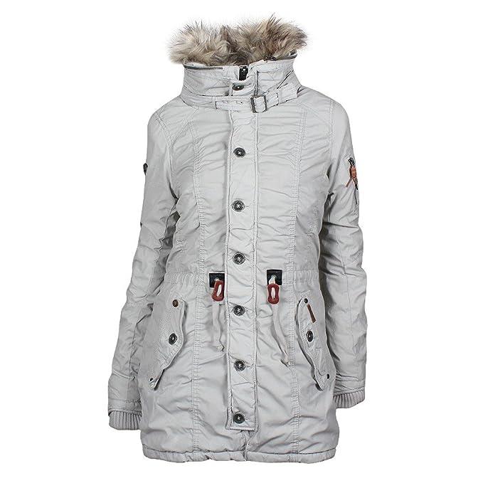 Khujo Chaqueta de invierno mujer abrigo Clam Snow snow (104) Large