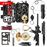 Patch-Up Survival Kit Contains 12 Lifesaving Emergency Tools for Home, Outdoors Hiking Camping Disaster Preparedness & Wilderness Adventures. Compact Shockproof & Waterproof Case Review