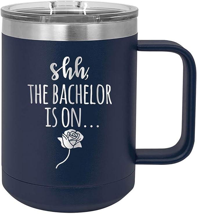 Bachelor-Themed Engraved Wine Tumbler