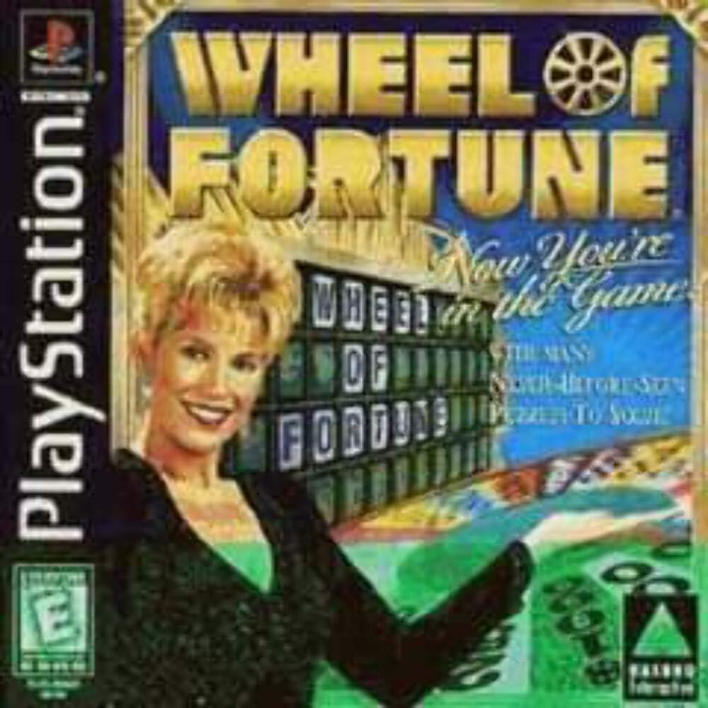 Amazon Com Wheel Of Fortune Ps Unknown Video Games