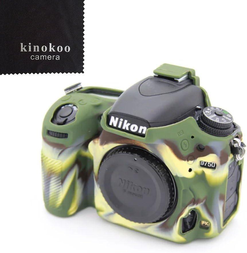 kinokoo silicona material funda para cámara para Nikon D750 ...