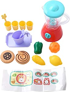 CHICTRY Kids Kitchen Play Set Kitchen Appliance Toys Set Pretend Play Playset Great Educational Learning Gifts for Baby Infant Toddlers Juicer One Size
