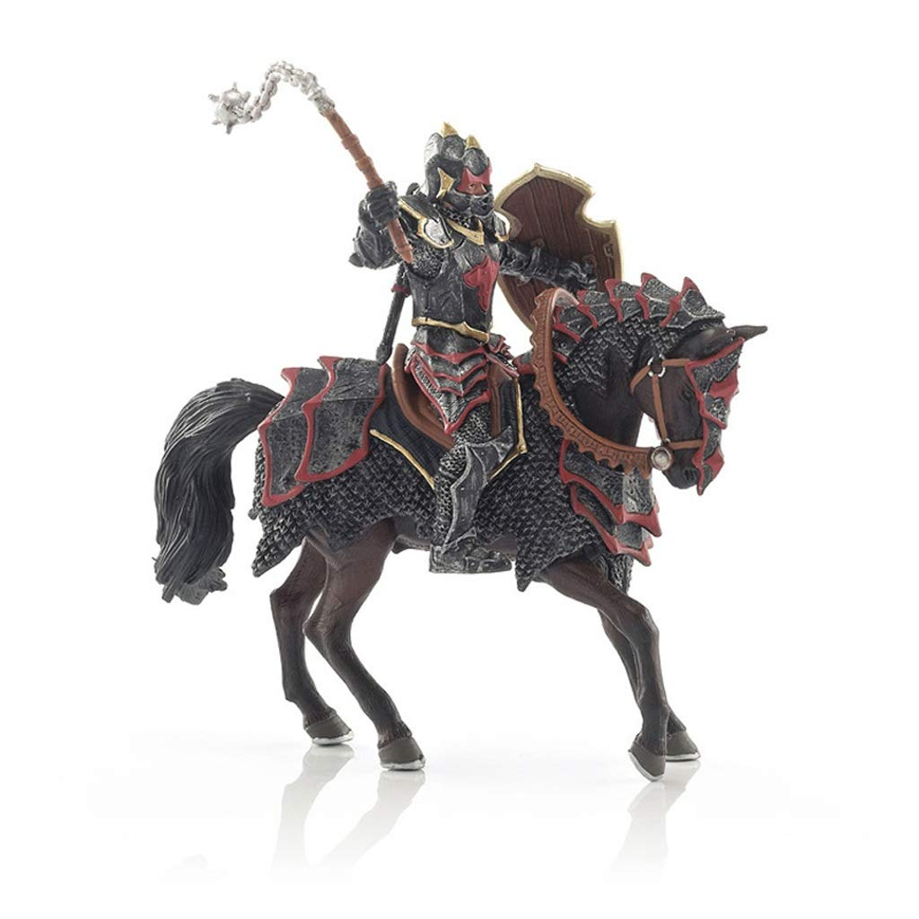 YIFNJCG Dragon Horse Knight Kind Erwachsene Toy Model Home Office Dekoration Geschenk