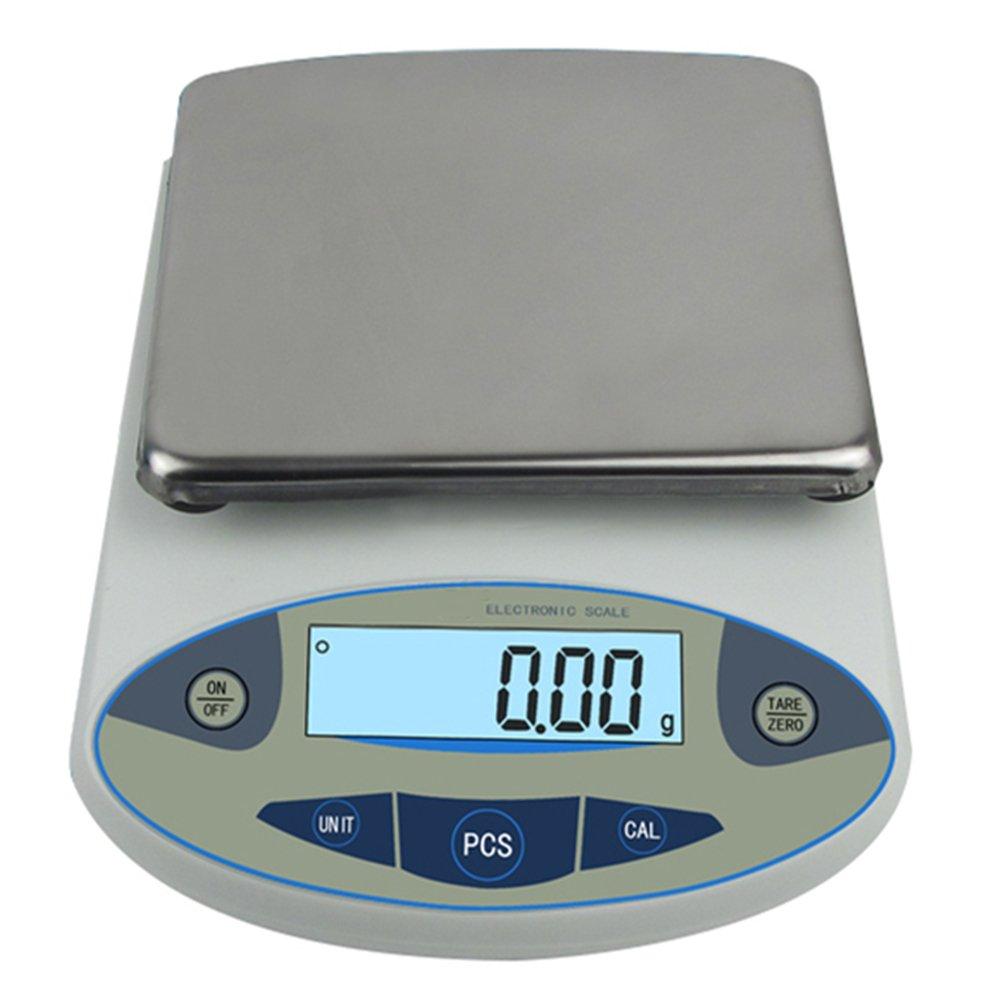 High precision lab digital analytical electronic balance analytical laboratory jewelry scalesprecision gold scales Clark scales kitchen precision weighing electronic scales 0.01g (5000g, 0.01g)