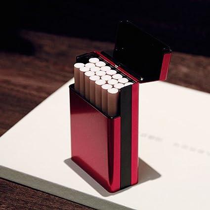 WC {Estuche de Cigarrillo XCF Fino, aleación de Aluminio ...