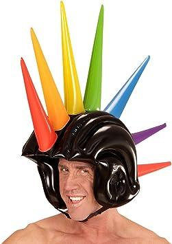 Iroquois casco para disfraz Punk Boxhelm hinchable 90 cm Punk ...