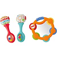 Fisher-Price Tambourine & Maracas Gift Set