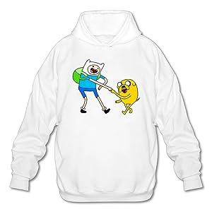 Adventure Time Cartoons Gallery Men's Fashion Hoodies Hoodie Sweatshirt