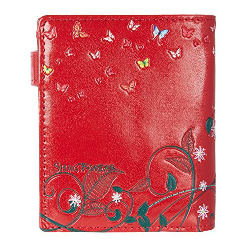 Various Bench Butterfly designs Young Oasis Small The and Shagwear Red Wallet Park colors Purse orange Ladies x1FXnqCwT