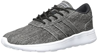huge discount d22d5 3185f ... coupon code for adidas neo womens grey black white mesh lite racer w  sneaker 7.5 6f4b3