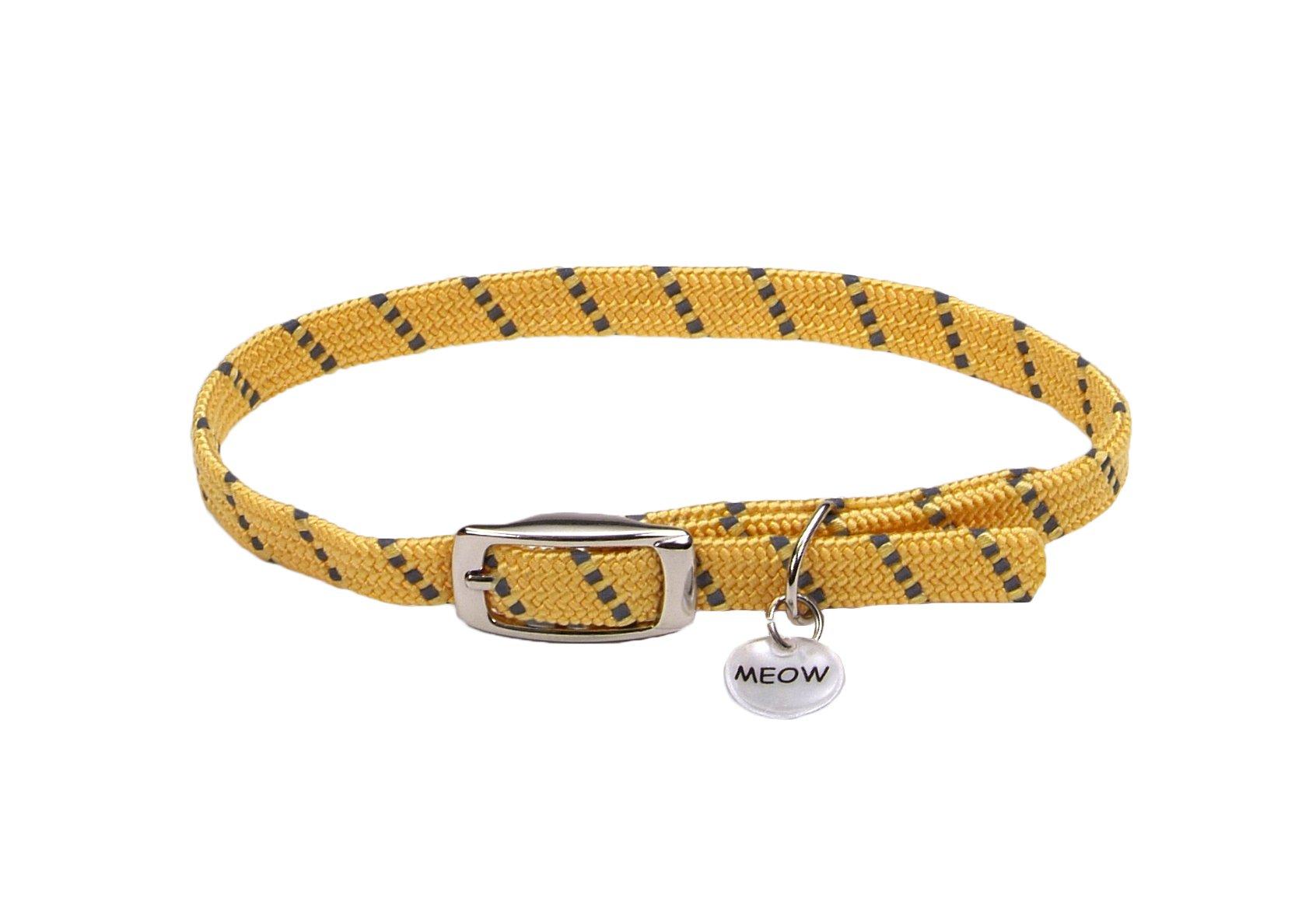 Coastal Pet Products ElastaCat Pet Collar Yellow