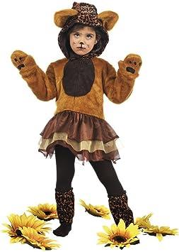 Limit Sport - Disfraz de leopardo con tutu, para niños, talla S ...