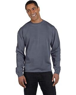 4beb5c4e28b Authentic Pigment 11 oz Pigment-Dyed Ringspun Fleece Crew Sweatshirt ...