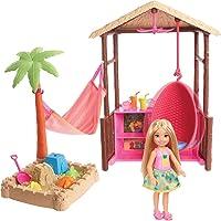 Barbie Chelsea Tiki Hut Playset