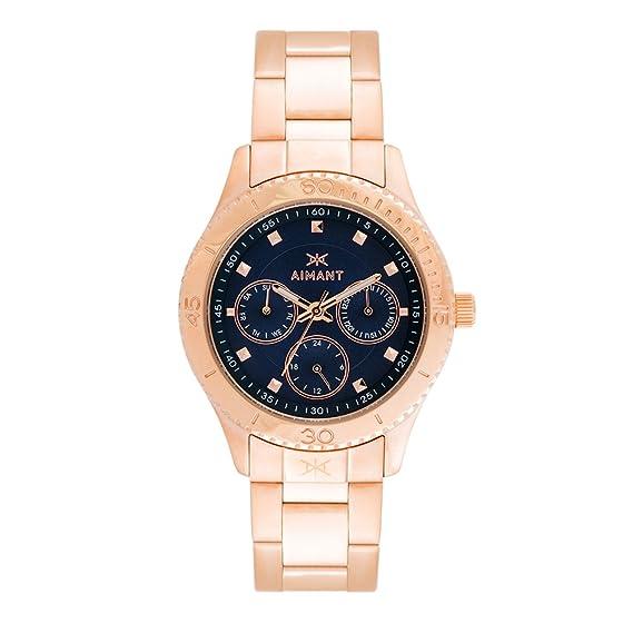Aimant la mujer Dakota Rosa Dorado con oro rosa reloj de pulsera de acero inoxidable lda-140srg-2rgb: Amazon.es: Relojes
