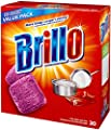 Brillo Steel Wool Soap Pads, Original Scent (Red), 30-Count Jumbo Pack