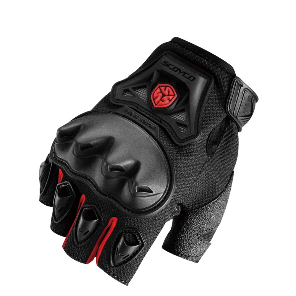 Los Guantes De La Motocicleta Respirable Part/ículas Antideslizantes Absorci/ón De Choque Dedo Protecci/ón De La Junta Que Monta El De Biking De La Monta/ña Guantes Deportivos Al Aire Libre