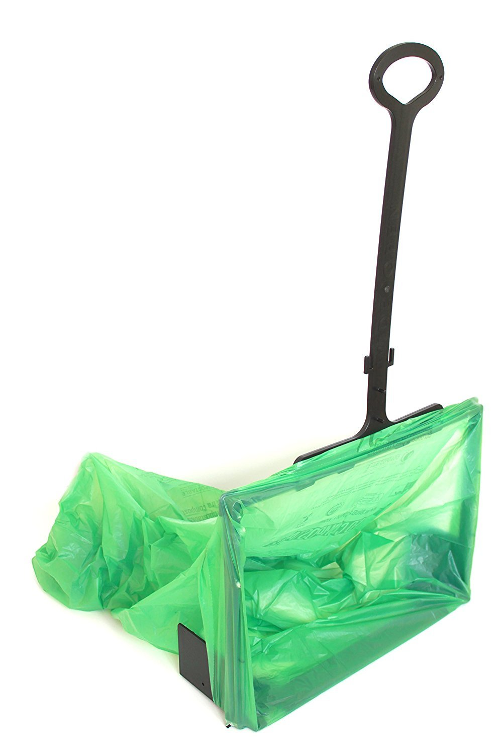 WideOpen's Big-Bagger let's you Rake, Sweep, Shovel, and more into an Open Plastic Trash Bag for Easy Cleanup by WideOpen Bag