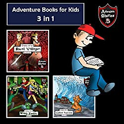 Adventure Books for Kids: 3-in-1 Children's Diaries About Heroes and Villains