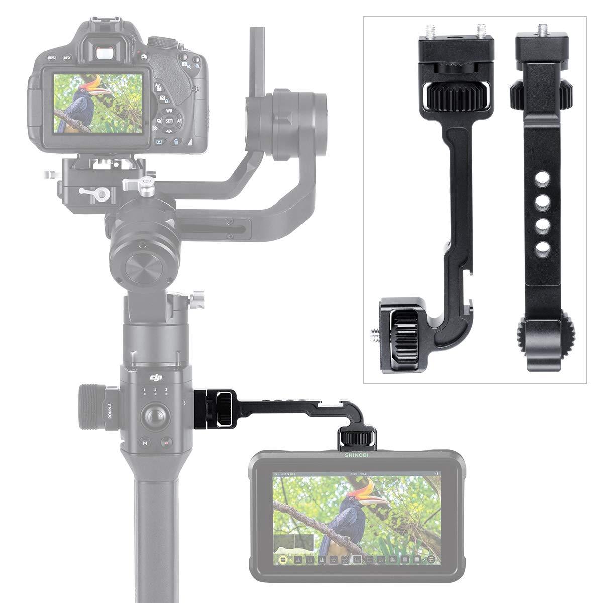 Soporte de Monitor para dji Ronin S Brazo m/ágico Giratorio con 1//4 de Rosca para Soporte de Zapata para micr/ófono