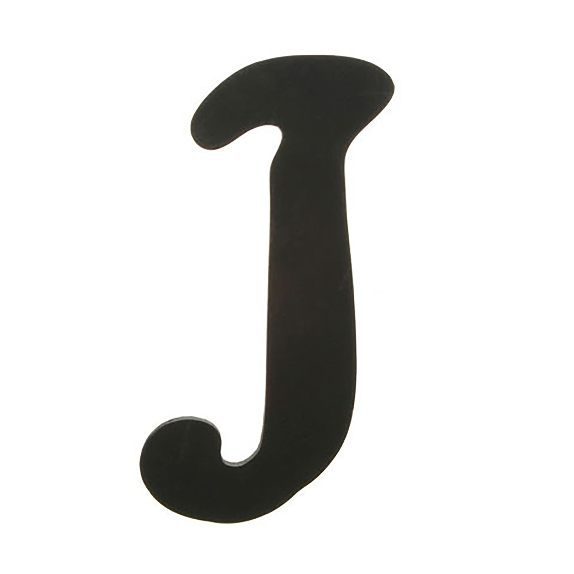 Darice 9189-J Solid Wood Letter, Capital, 9'', J, Black by Darice (Image #1)