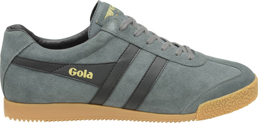 Gola Men's Harrier 7 Fashion Sneaker B01M3UQD9H 7 Harrier D(M) US|Graphite/Black 047585