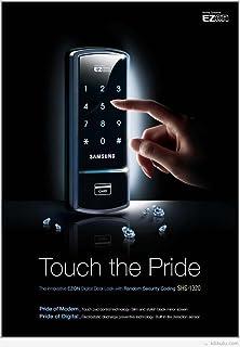 Amazon com : Digital Door Lock Smart Electronic Card Code