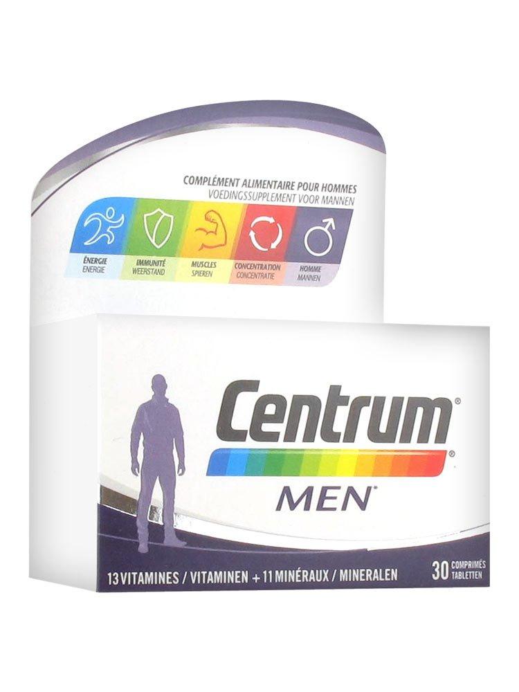 Centrum - Centrum Men 30 comprimés Pfizer: Amazon.es: Salud y cuidado personal