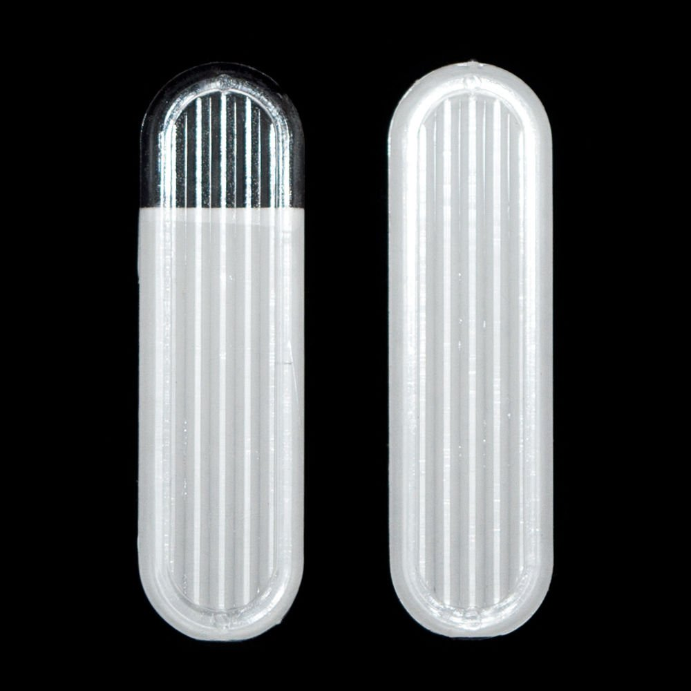 2 x Clear Sliding Glass Door Finger Pulls Orimiu