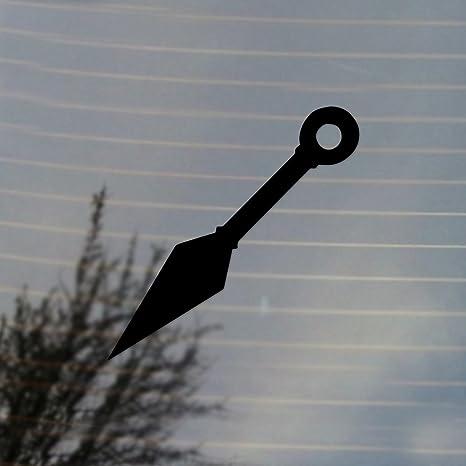 Amazon.com: Japanese Ninja Kunai Vinyl Decal (Black): Automotive